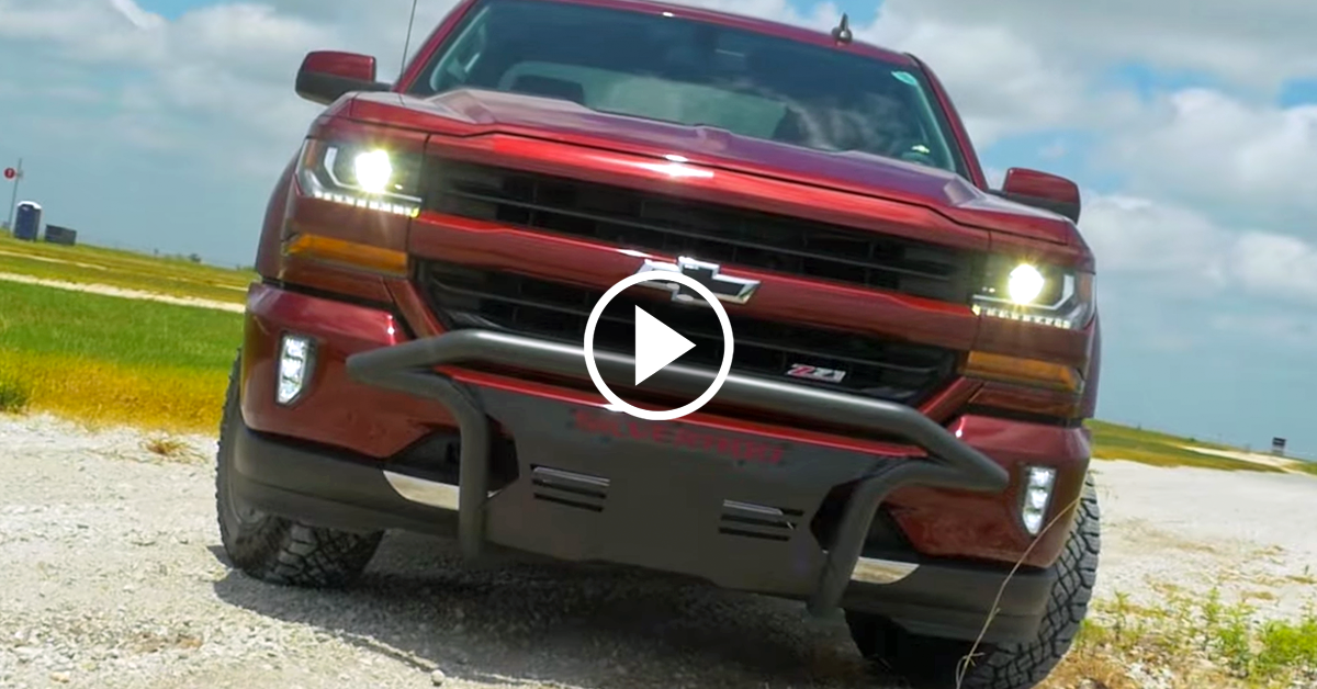 2016 Silverado outfitted with Chevrolet Performance parts ...