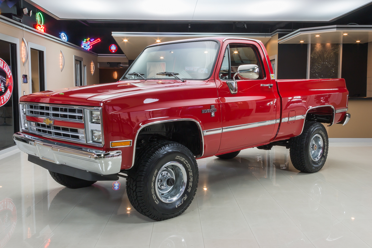 Full restoration makes this 1987 Chevrolet SIlverado as ...