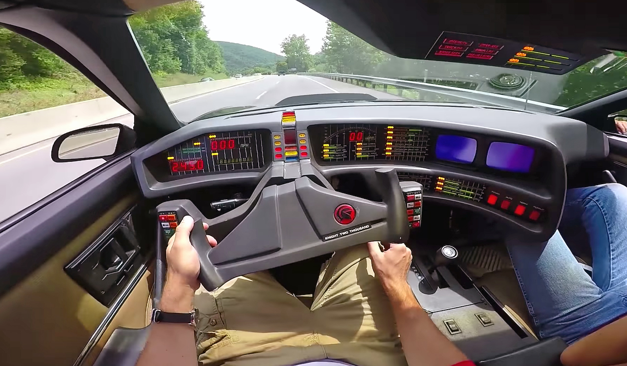 Knight Rider Car For Sale >> Fantasy debunked: Turns out K.I.T.T. is awful to drive ...