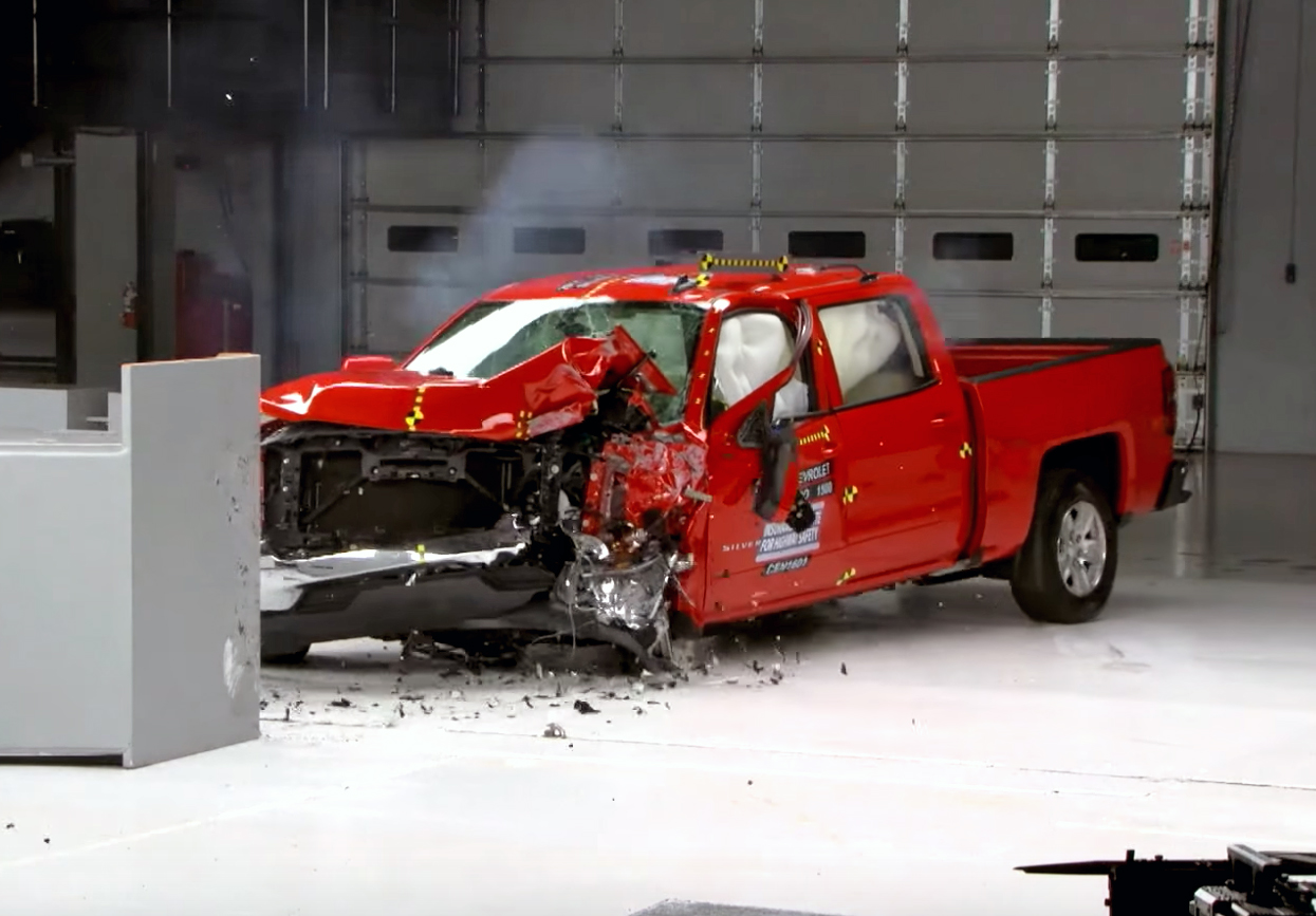 How Does The 2016 Silverado Stand Up To Crash Testing