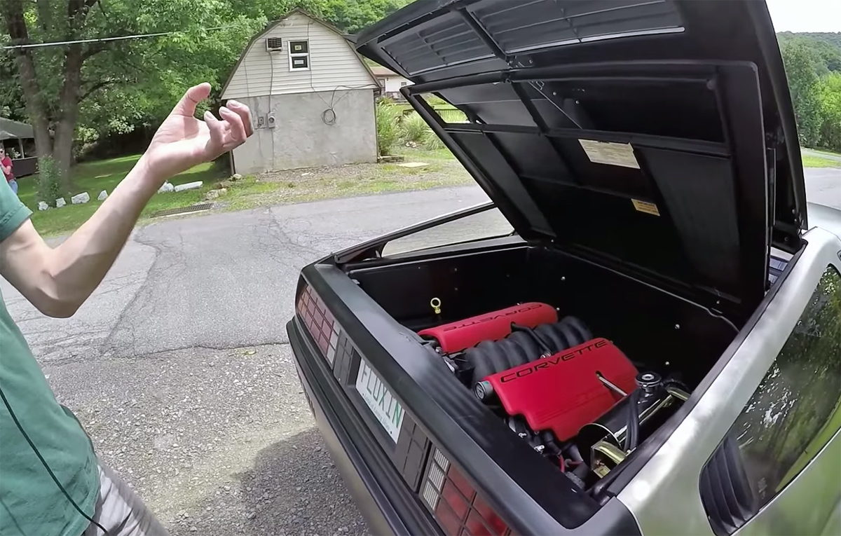 Go Back In Time Faster with this LS-Swapped DeLorean - ChevyTV
