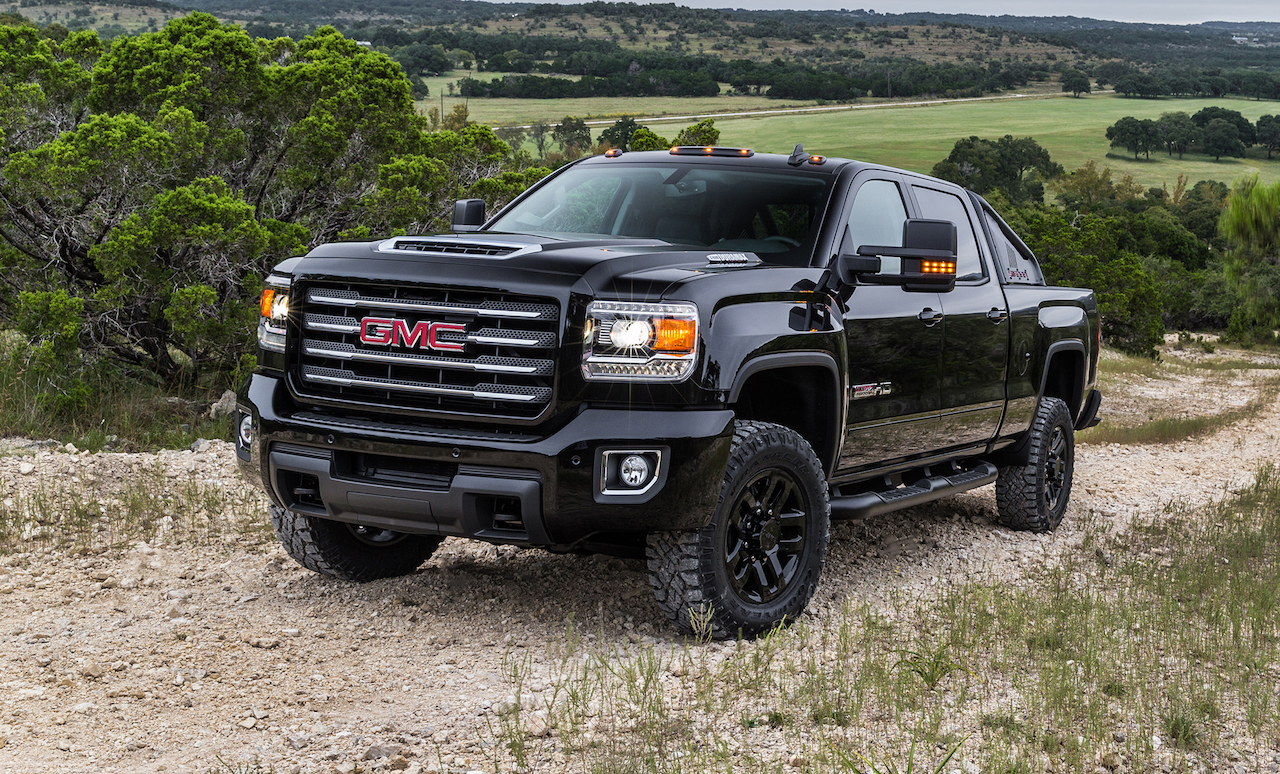 Gmc Lifts The Covers Off New Sierra Hd All Terrain X Chevytv