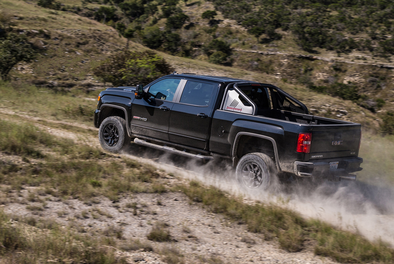 GMC lifts the covers off new Sierra HD All Terrain X - ChevyTV