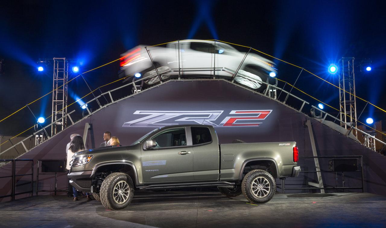Chevrolet Colorado ZR2 Pickup Unveiled in Los Angeles