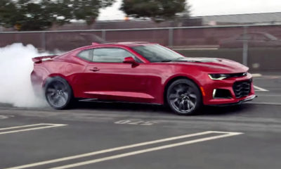 Have a quick look at the refreshed 2019 Chevrolet Camaro SS