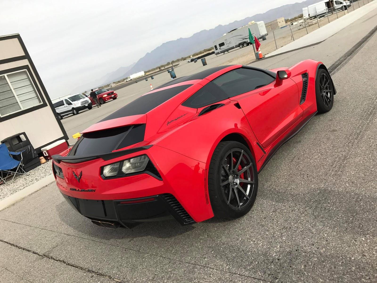 Callaway s Corvette AeroWagen es to life ChevyTV
