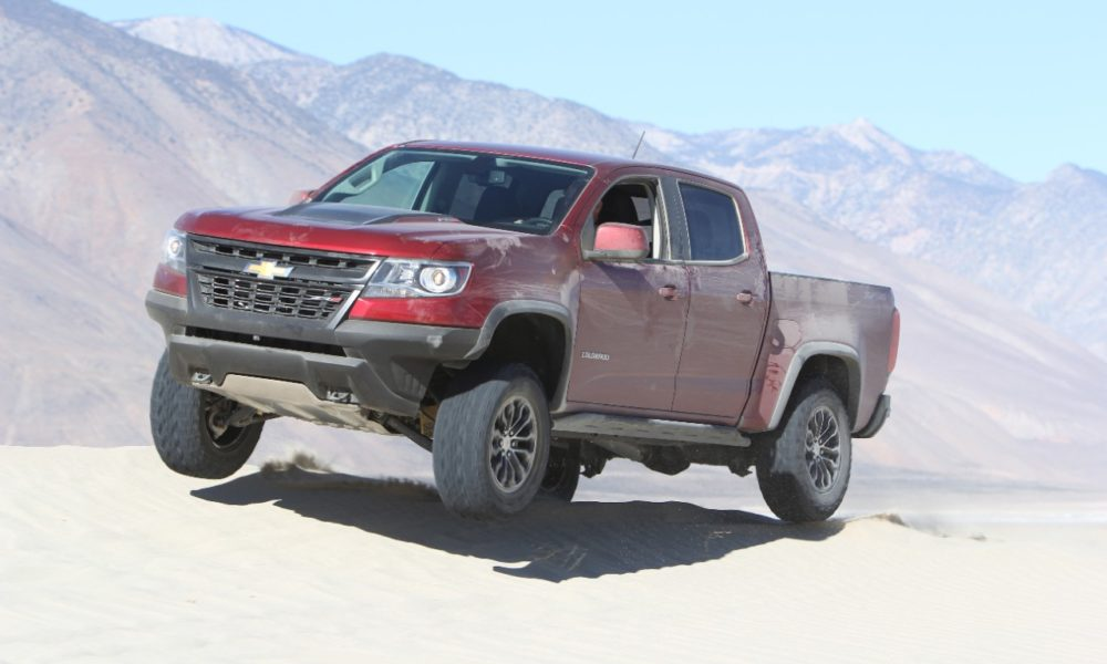 Chevrolet Colorado Zr2 Named Pickup Truck Of The Year By Four Wheeler