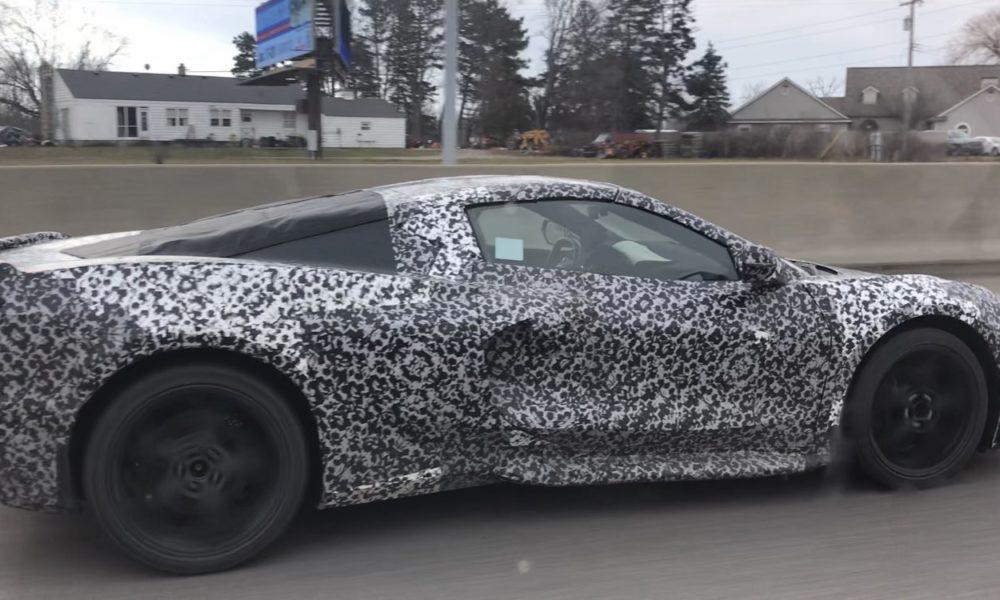 Corvette C8 Spotted Testing Interior Leaked